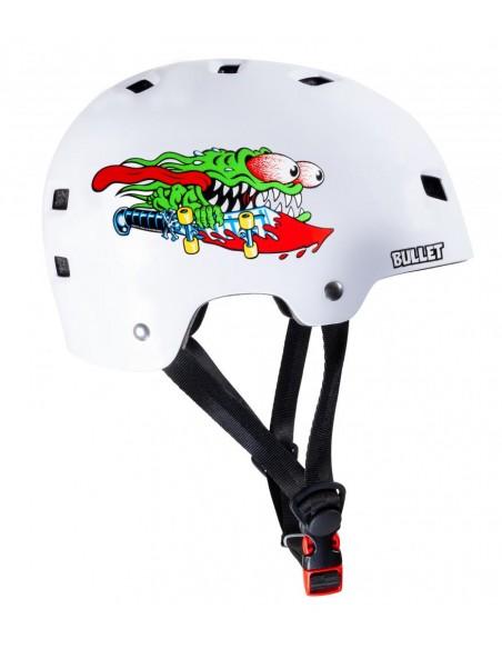 casco bullet x santa cruz helmet | slasher youth