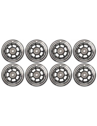 rollerblade 76mm 80a + sg5 + alu spacers 6mm | complete pack