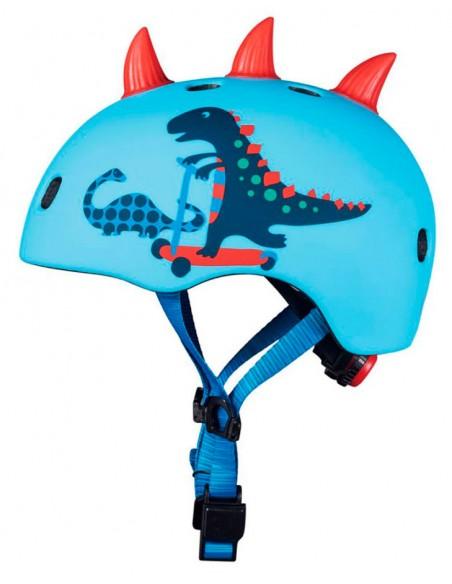 micro dino 3d helmet | led