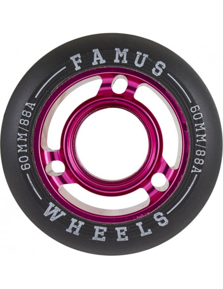 famus wheels fast girly agressive 60mm 88a - 4pack