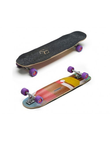 """loaded cantellated tesseract 36"""" complete longboard"""