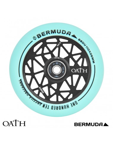 rueda oath bermuda 110mm turquesa-negro