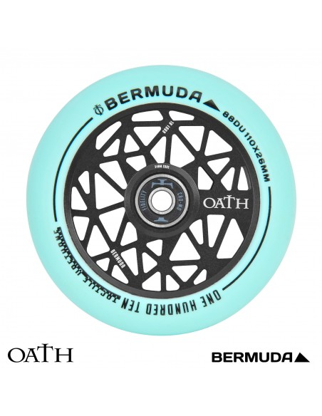 oath wheel bermuda 110mm teal-black