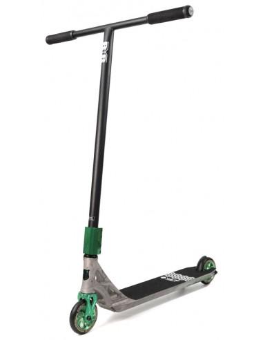 addict blacksmith deck + raptor chromoly t bar   slide scooter custom