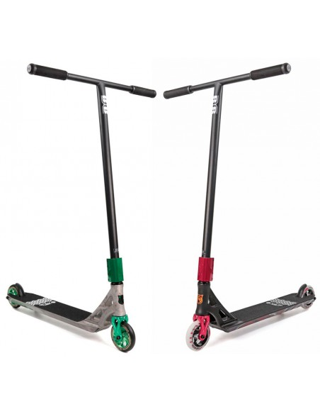 Oferta addict blacksmith deck + raptor chromoly t bar | slide scooter custom