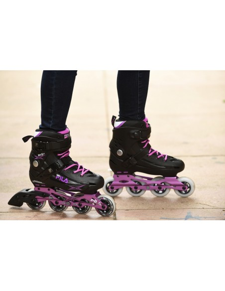 Venta fila skates madame houdini | black-violet