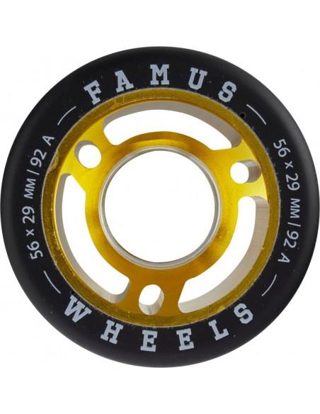 Comprar famus quad wheels 60mm 84a | 4pack