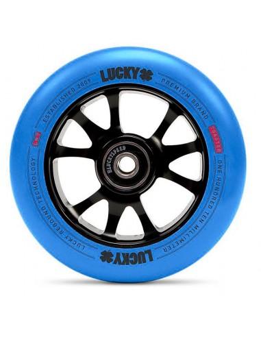 lucky toaster wheel 110mm   blue-black