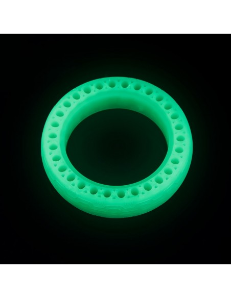 solid bee wheel double suspension fluorescent | electric scooter spare parts
