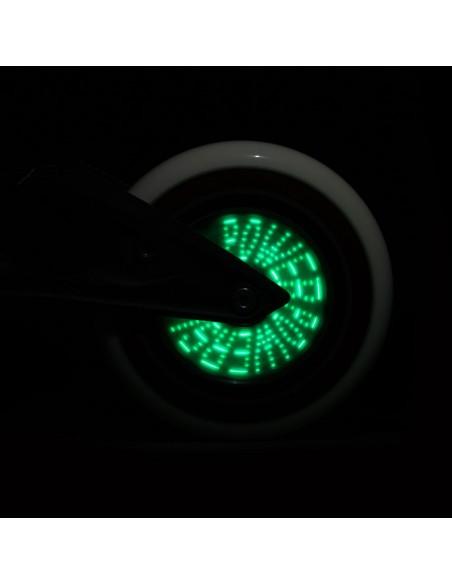 Opinión de rueda powerslide graphix 125mm | colorful