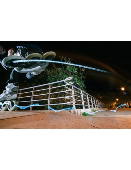 Características rueda powerslide graphix 125mm | colorful