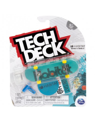 tech deck habitat green serie 11 | fingerboard