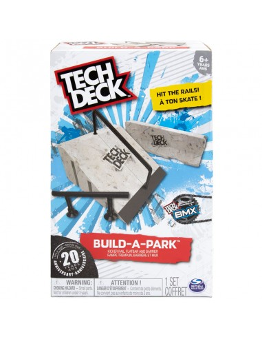"TECH DECK RAIL ""BUILT A PARK"" 2