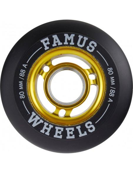famus wheels fast wheels 80mm 88a - 4pack