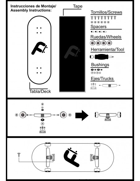 Comprar freeday to do tricks 32mm | fingerskate
