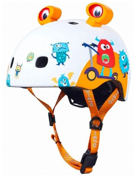 micro monster 3d helmet | led
