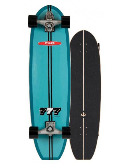 """2020   carver tyler """"777"""" 36.5""""   surf skate"""