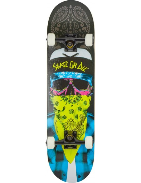 "speed demons gang 8.25"" mob | complete skateboard"
