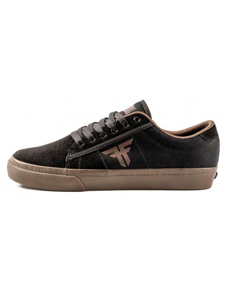 Producto fallen bomber sandoval black dark gum | skate shoes