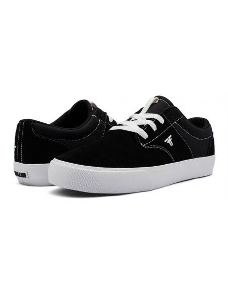fallen phoenix black white | skate shoes