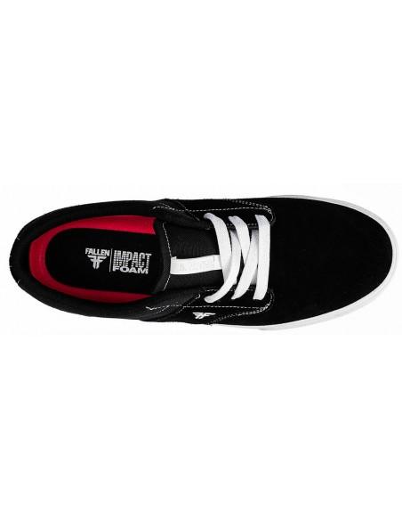 Venta fallen phoenix black white   zapatillas de skate