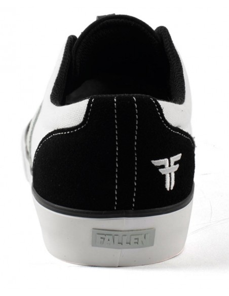 Oferta fallen phoenix black natural white | skate shoes