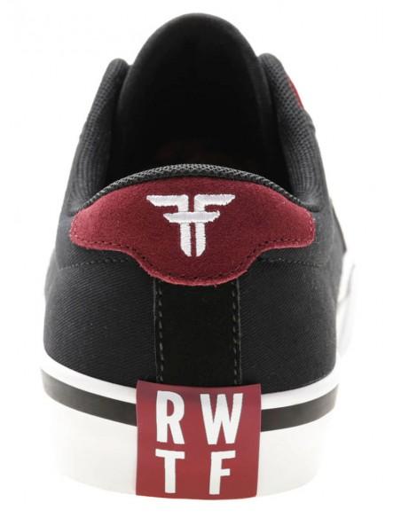 Oferta fallen bomber rwtf black crimson white    skate shoes
