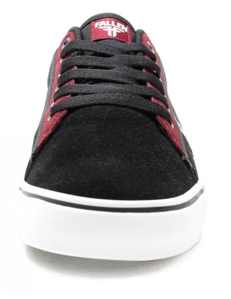 Tienda de fallen bomber rwtf black crimson white    skate shoes