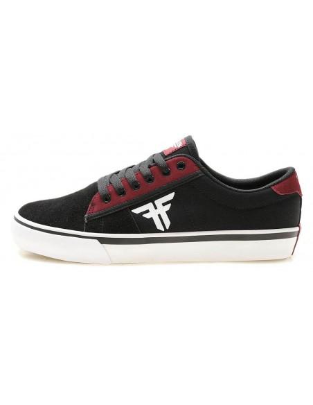 Producto fallen bomber rwtf black crimson white    skate shoes