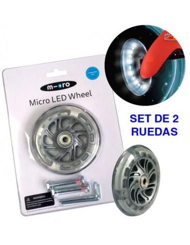 mini micro led wheels 120mm