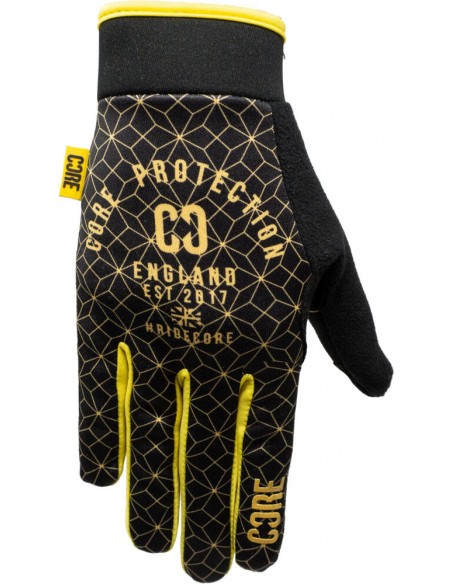 Comprar core protection gloves | gold-black