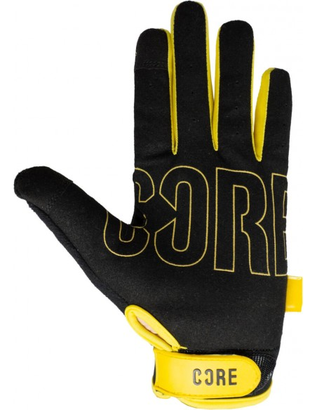 Venta core protection gloves | gold-black