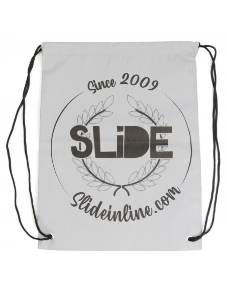 reflective string bag slide