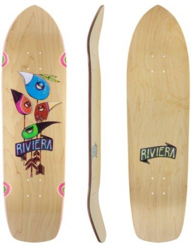 "riviera arrowheads 32"" skateboard cruiser deck"
