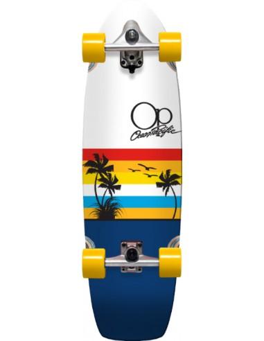 "ocean pacific surf skate completo 33""   sunset navy"