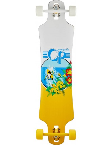 "ocean pacific drop through 39"" white 