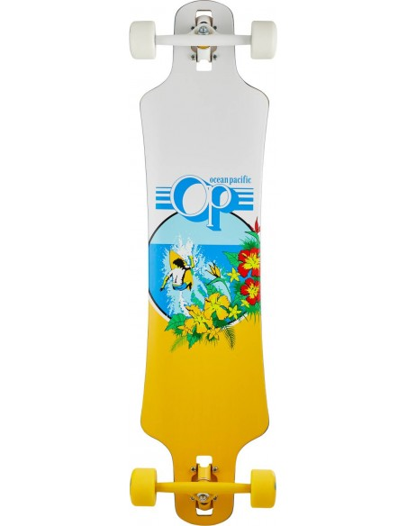 "ocean pacific drop through 39"" blanco 