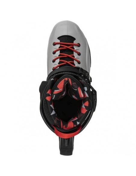 Comprar patines rollerblade rb pro x   gris-rojo calido