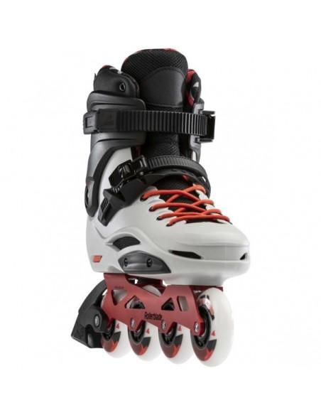 Oferta patines rollerblade rb pro x   gris-rojo calido
