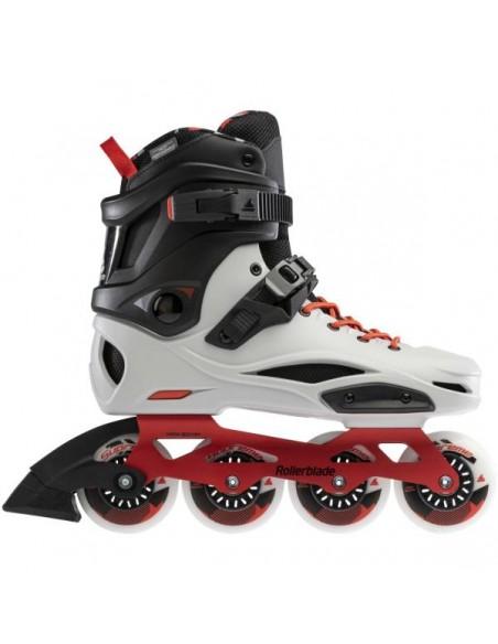 Venta patines rollerblade rb pro x   gris-rojo calido