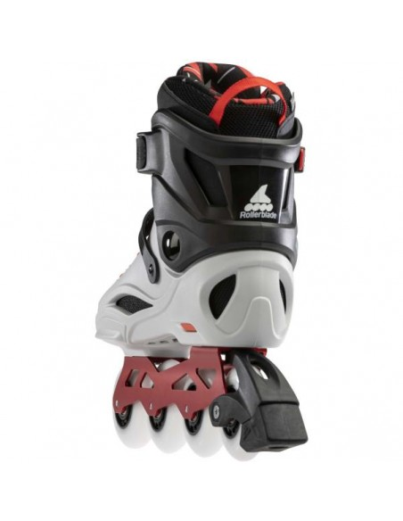 Producto patines rollerblade rb pro x   gris-rojo calido