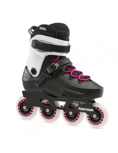 rollerblade skates twister edge w | black-magenta