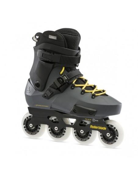 rollerblade skates twister edge | anthracite-yellow