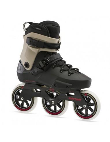 rollerblade skates twister edge 110 3wd | black-sand