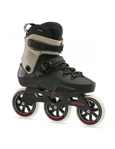 rollerblade twister edge 110 3wd   negro-arena