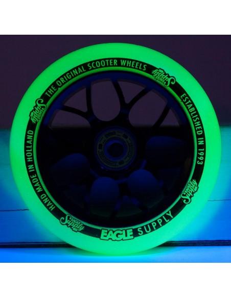 Oferta eagle wheel standart x6 core glow in the dark - yellow  110mm