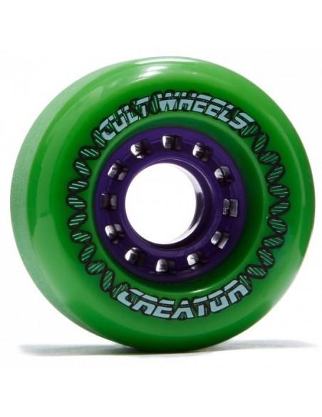 Comprar lush creator green 72mm | longboard wheels