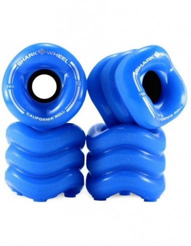 ruedas shark starter wheels 60mm 78a | azul