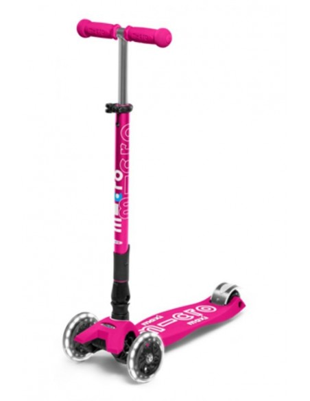 maxi deluxe pink led foldable