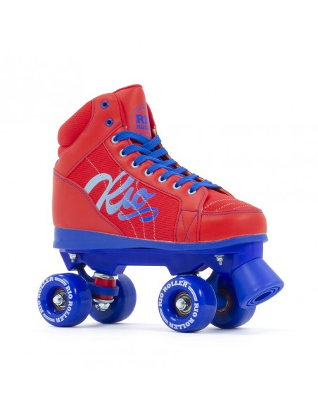 rio roller lumina quad skates | red-blue